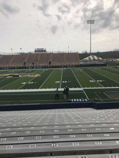 Dix Stadium, section: 3, row: 3, seat: 18
