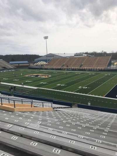 Dix Stadium, section: 1, row: 18, seat: 15