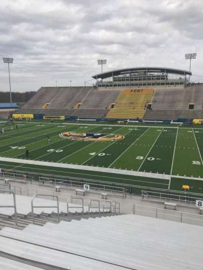 Dix Stadium, section: 8, row: W, seat: 12