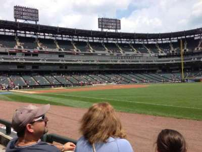 Guaranteed Rate Field section 115