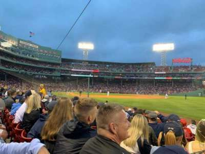 Fenway Park section Right Field Box 7