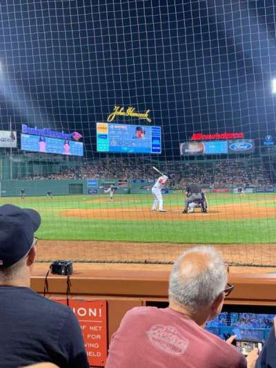 Fenway Park section Field box 47