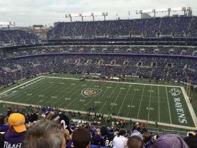 M&T Bank Stadium, section: 524, row: 18, seat: 3