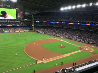 Minute Maid Park, section: 309, row: 1, seat: 24