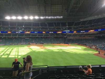 Minute Maid Park, section: 102, row: 8, seat: 2