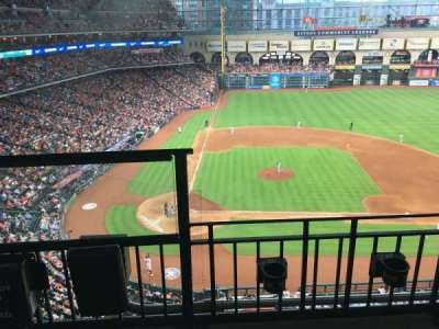 Minute Maid Park, section: 324, row: 2, seat: 1