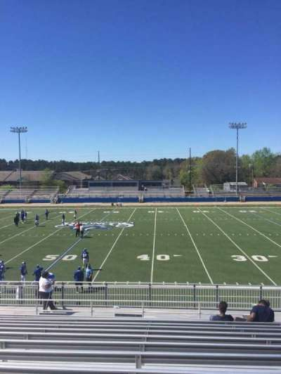 Luther Nick Jeralds Stadium, section: 104, row: T, seat: 11