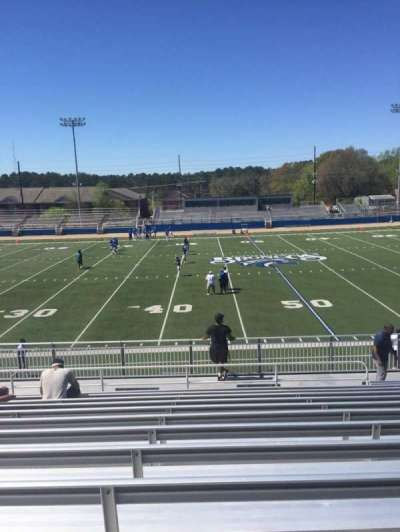 Luther Nick Jeralds Stadium, section: 105, row: R, seat: 14