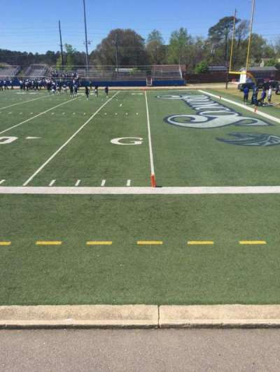 Luther Nick Jeralds Stadium, section: 101, row: A, seat: 7