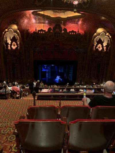Ohio Theatre (Columbus), section: Balcony C, row: R, seat: 101