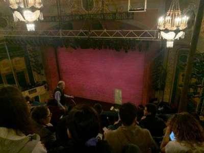 Shubert Theatre section Balcony R