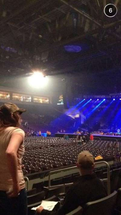 Erie Insurance Arena, section: 116, row: H, seat: 6