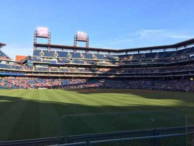 Citizens Bank Park, section: 146, row: 2, seat: 1
