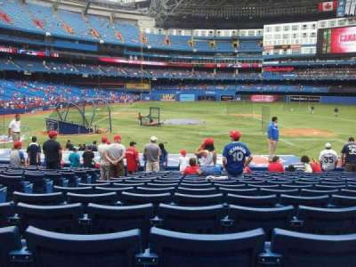 Rogers Centre, section: 118R, row: 22, seat: 4