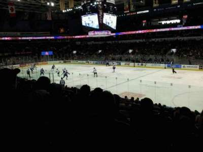 Budweiser Gardens, section: 112, row: r, seat: 23