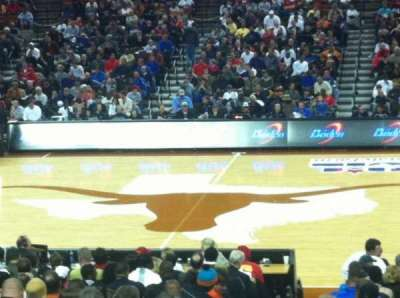 Frank Erwin Center, section: 36, row: 20, seat: 1