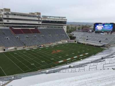 Lane Stadium, section: 39, row: 4N, seat: 12