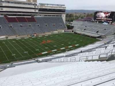 Lane Stadium, section: 37, row: 4S, seat: 24