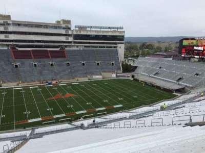 Lane Stadium, section: 33, row: 4R, seat: 12