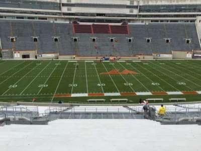 Lane Stadium, section: 11, row: FFF, seat: 27