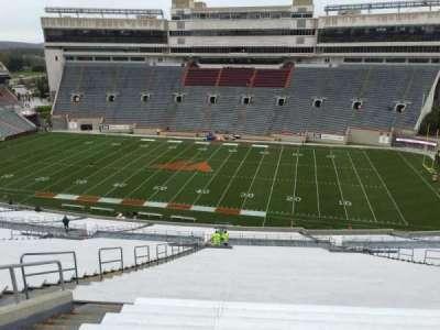 Lane Stadium, section: 27, row: 4J, seat: 18