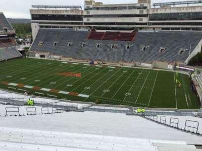 Lane Stadium, section: 23, row: 4K, seat: 21