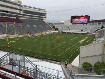 Lane Stadium, section: 201, row: E, seat: 7