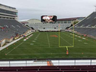 Lane Stadium, section: 204, row: J, seat: 15