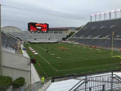 Lane Stadium, section: 206, row: D, seat: 6