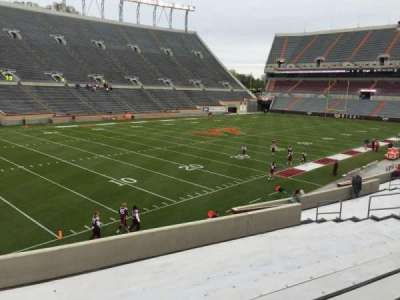 Lane Stadium, section: 2, row: BB, seat: 12
