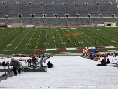 Lane Stadium, section: 8, row: CCC, seat: 14