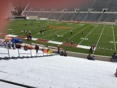 Lane Stadium, section: 14, row: CC, seat: 24