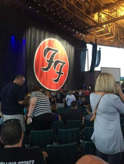 Klipsch Music Center, section: A, row: Z, seat: 15
