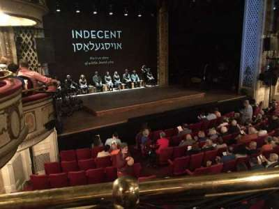Cort Theatre, section: Front Mezzanine, row: A, seat: 15