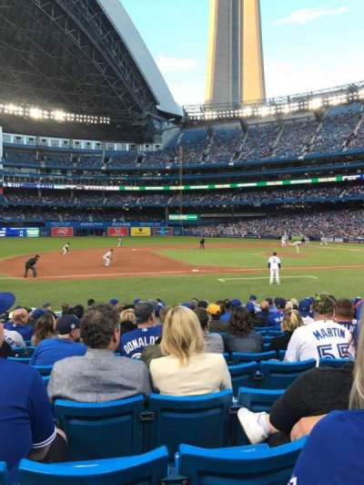 Rogers Centre, section: 128R, row: 13, seat: 8