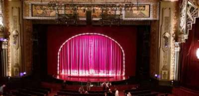Hollywood Pantages Theatre, section: Mezz Center, row: C, seat: 103