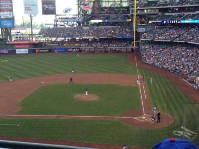 Miller Park, section: 336, row: 2, seat: 1