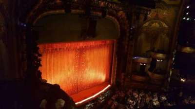 New Amsterdam Theatre, section: Balcony Left, row: a, seat: 31