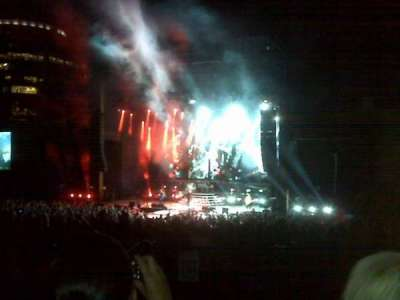 Fiddler's Green Amphitheatre, section: 202, row: D, seat: 13