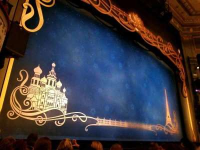 Broadhurst Theatre, section: Orchestra Left, row: E, seat: 5