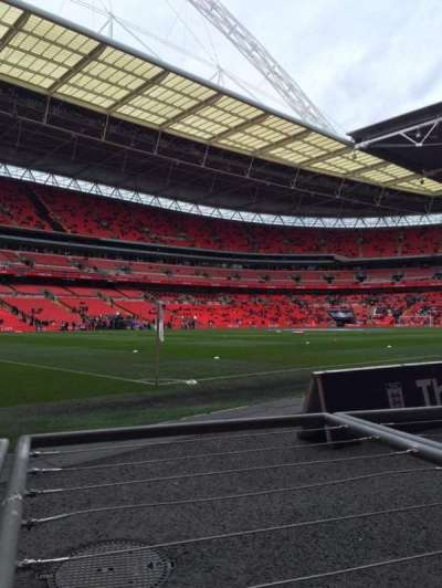 Wembley Stadium, section: 128, row: 1, seat: 146