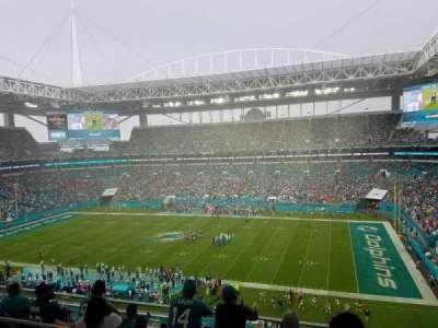 Hard Rock Stadium, section: 343, row: 7, seat: 7