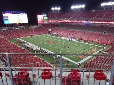 Raymond James Stadium, section: 343, row: B, seat: 7