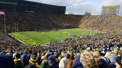 Michigan Stadium section 7