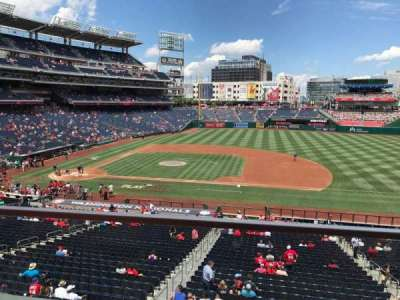 Nationals Park section 219