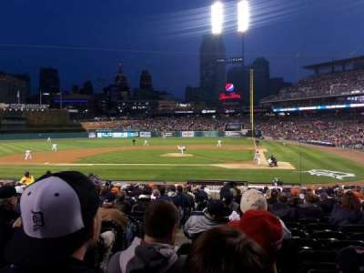Comerica Park, section: 131, row: 26, seat: 16