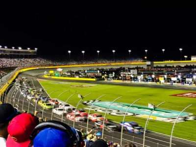 Charlotte Motor Speedway, section: GM Sec. E, row: 23, seat: 18