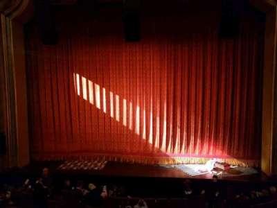 St. James Theatre, section: Mezzanine, row: A, seat: 105