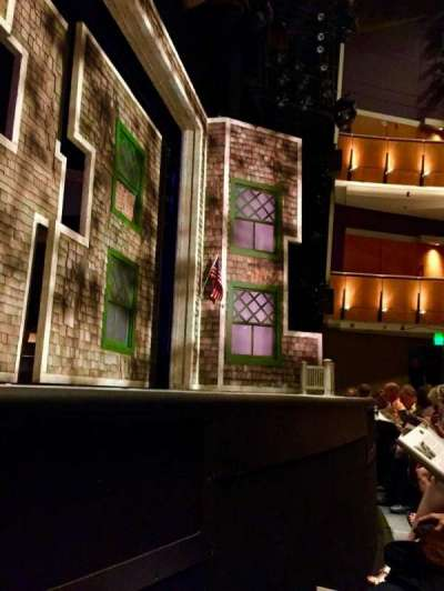 Ahmanson Theatre, section: Orch, row: AA, seat: 23