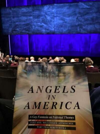 The Roda Theatre at the Berkeley REP, section: Orch, row: L, seat: 111